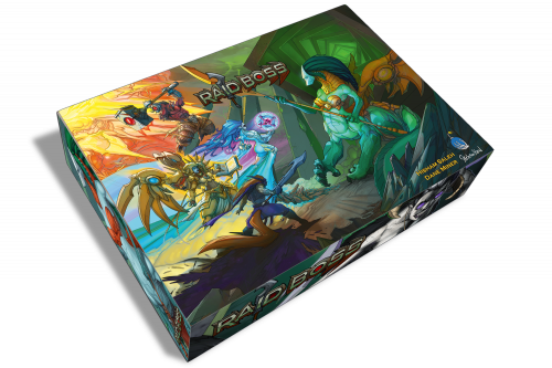 Raid Boss Box for Raid Boss Cooperative Tabletop RPG