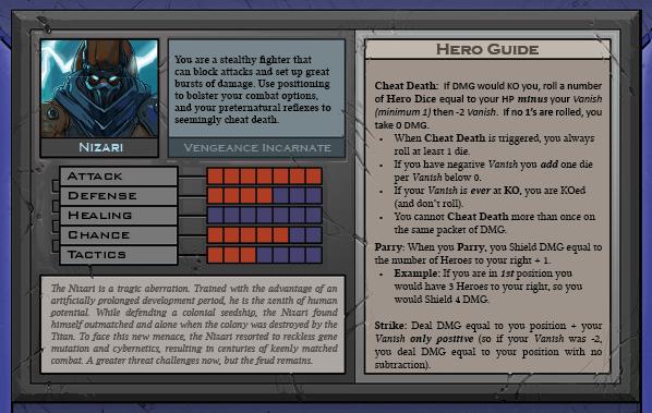 Nizari Card Back for Raid Boss Cooperative Tabletop RPG