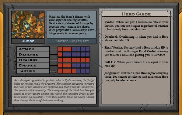 Judge Card Back for Raid Boss Cooperative Tabletop RPG