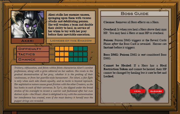 Titan Card Back for Raid Boss Cooperative Tabletop RPG