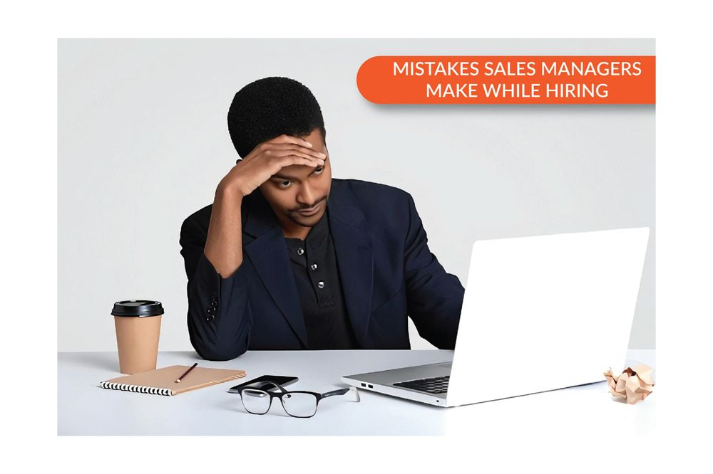 Sometimes hiring a new salesperson actually puts more work and stress on your plate. Bad hiring decisions can cause many problems for the organization. In this article, we have discussed some of the common hiring mistakes sales managers make when hiring salespeople and how you can avoid them.