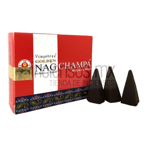 Incienso Vijayshree GOLDEN Nag Champa