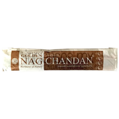 Incienso Vijayshree GOLDEN Nag Chandan (15 gramos)