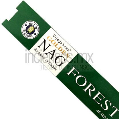 Incienso Vijayshree GOLDEN Forest (15 gramos)