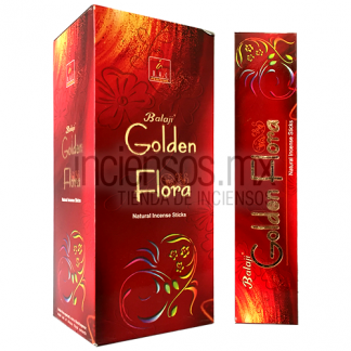 Incienso Balaji Golden Flora (180 varitas)