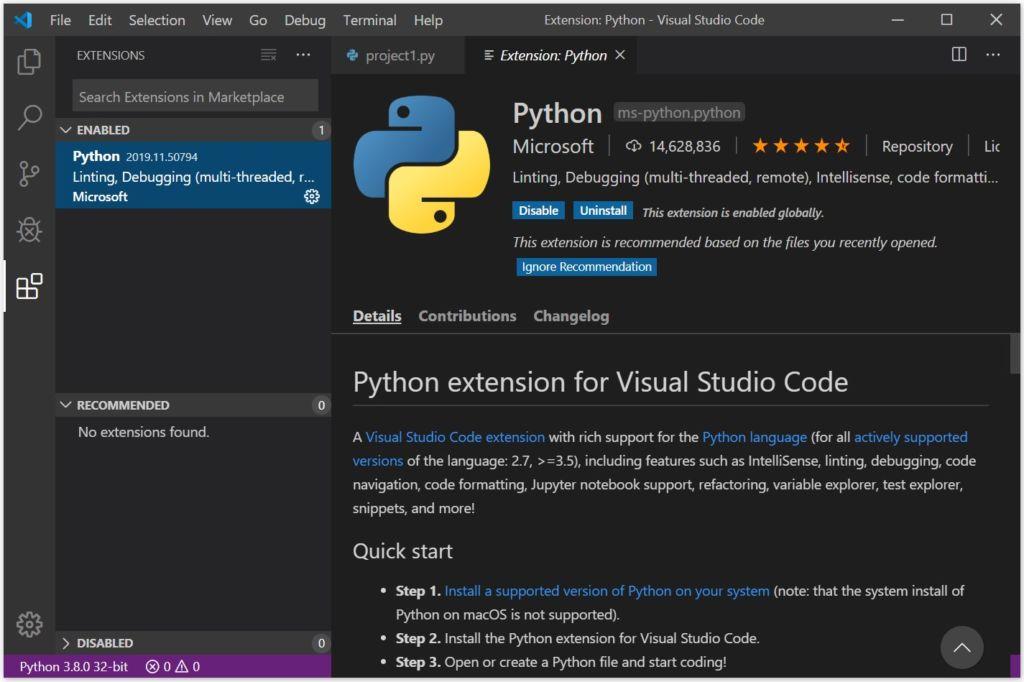 Escribe tu primera línea de código de programación en Python en menos de 1 minuto