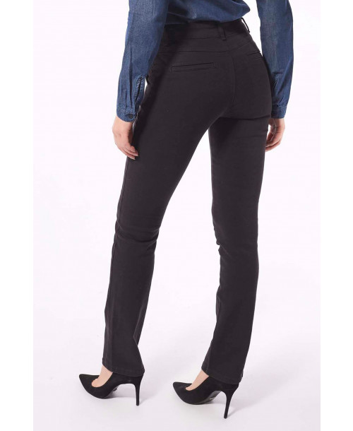 CALÇA INDEX FEM COLOR ALFAIATARIA RETA