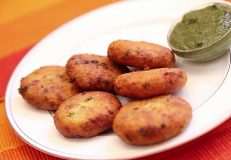Sindhi aloo tikki ifn india food network india recipesappetiserssnacksregional forumfinder Gallery