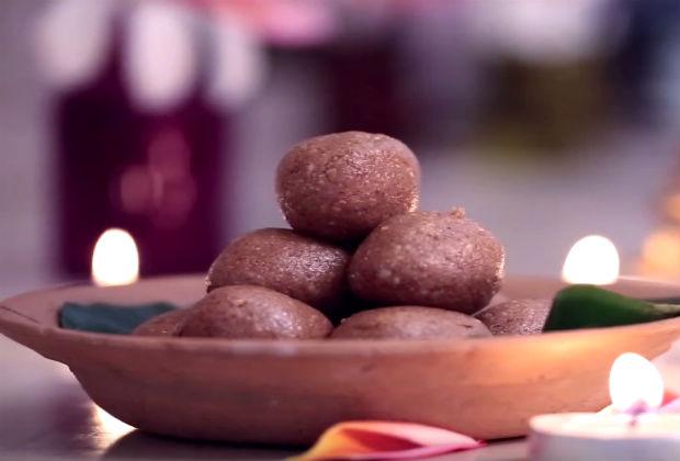 How To make Sesame Peanut Ladoo  | IFN