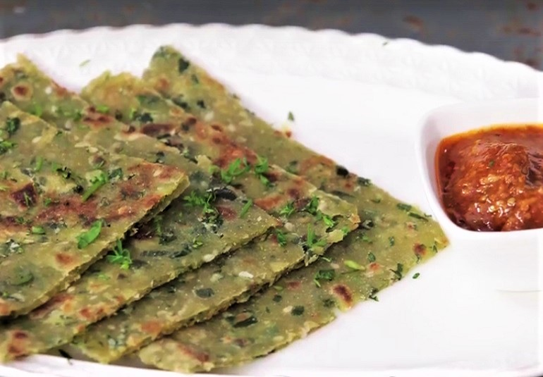 Aloo methi paratha recipe tasty paratha recipes ifn ifn india food network india ifn marathibreakfastrecipeslunchveg lunch forumfinder