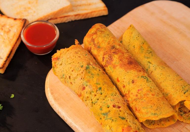 Veg Omelette Recipe Eggless Omelette Recipe Besan Omelette Recipe