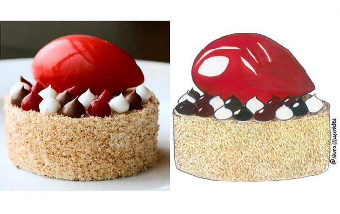 Lamington Cake by Chef Heston Blumenthal