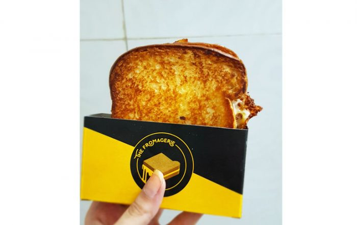 Four Cheese Blend Sandwich from The Fromagerie