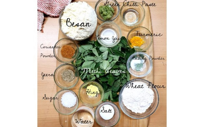 Muthia Ingredients