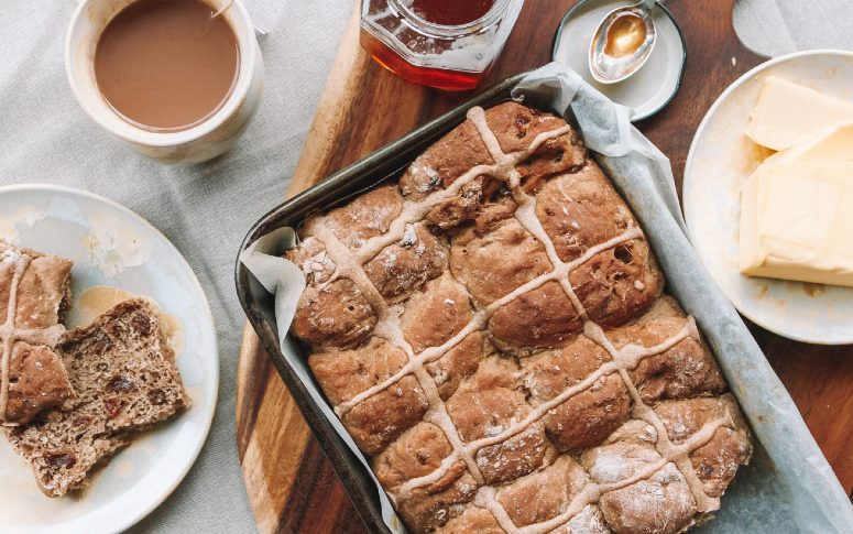 Hot Cross Buns In The Oven Are Raisin' The Bar This Easter