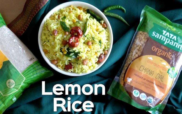 One Pot Meal: Lemon Rice