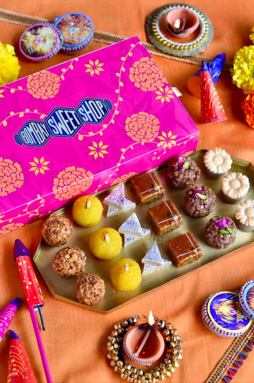 Diwali hamper by Bombay Sweet Shop