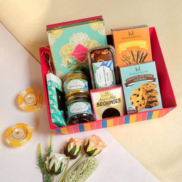 Diwali hamper by Honey & Dough