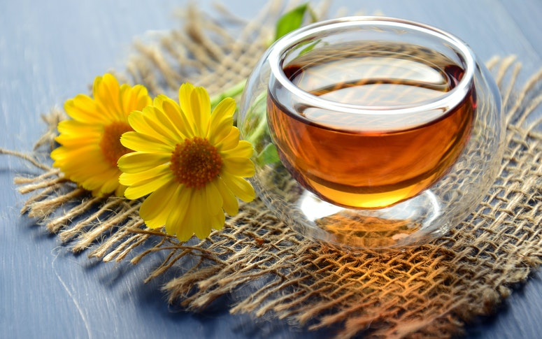 For the Kapha body type, warm water and hot herbal teas/infusions should be included to enhance metabolism, according to Ayurveda