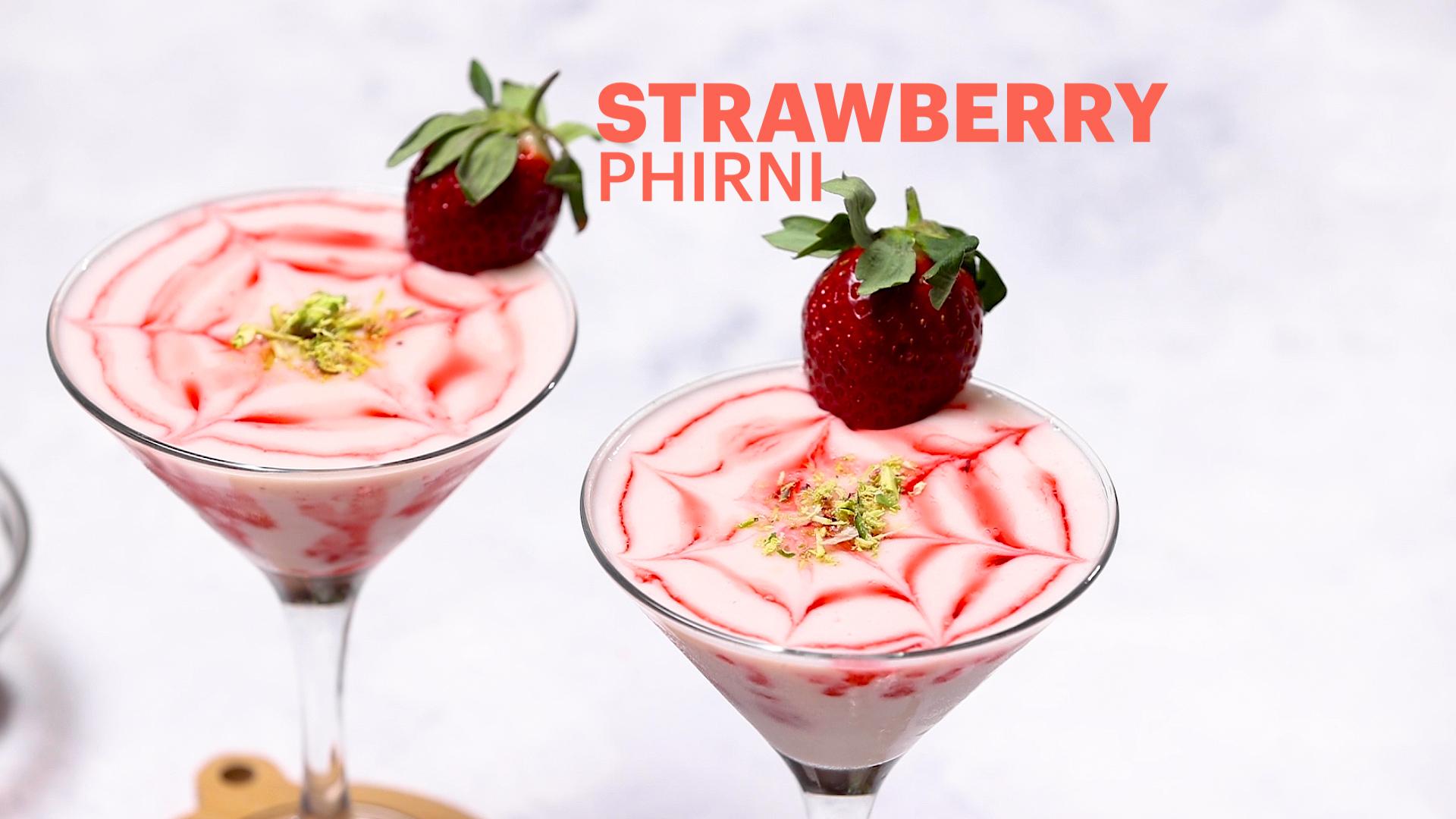 Strawberry Phirni