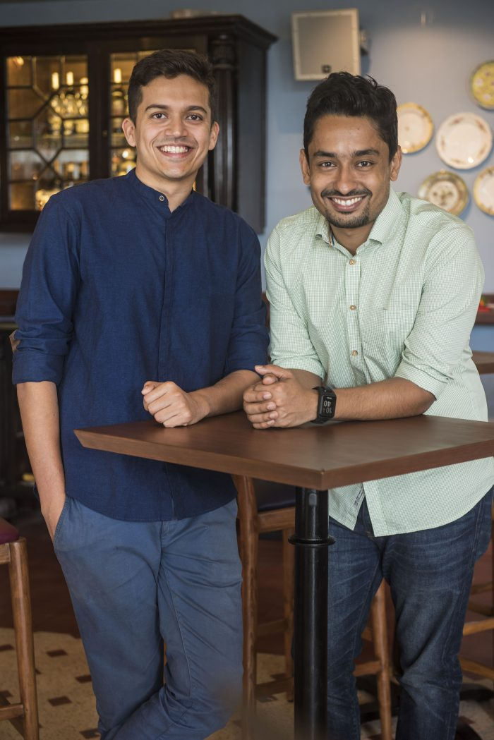 Founder and COO Yash Bhanage & Founder and CEO, Sameer Sethi