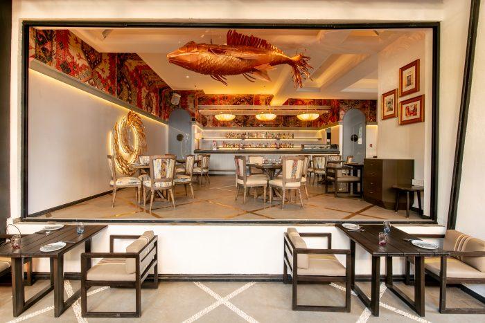 The inclusive interiors at Tori