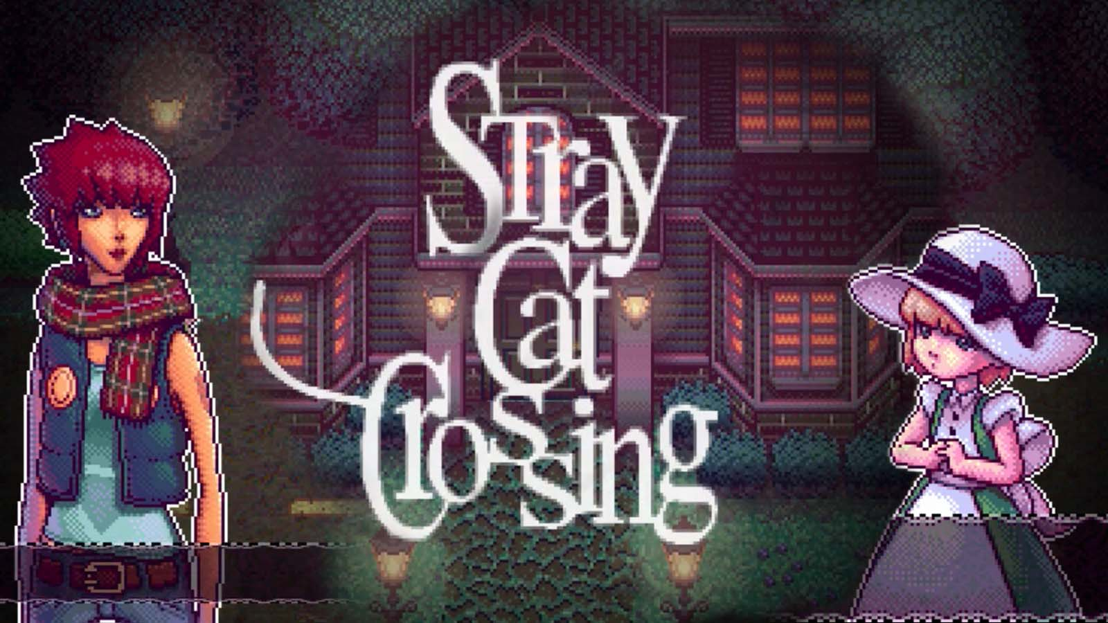 Stray Cats Crossing Picture