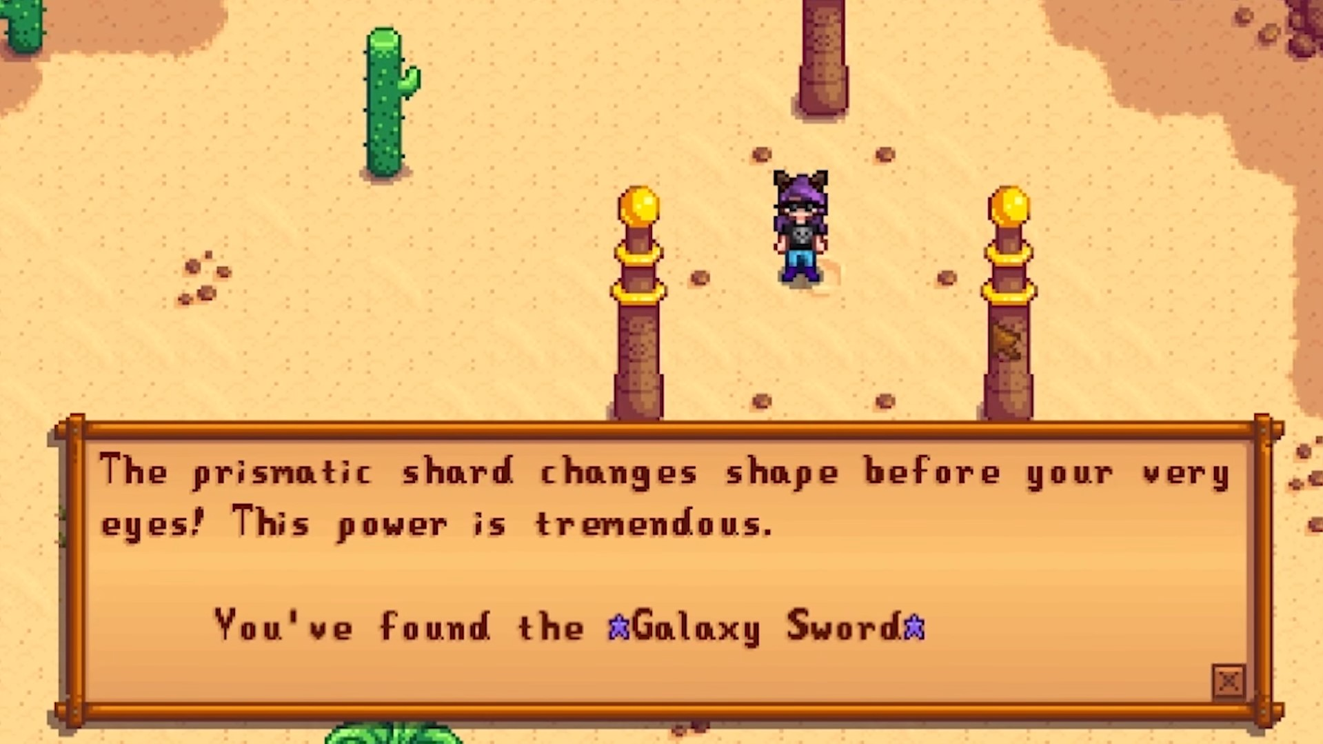 stardew valley ps4 how to get to the dessert