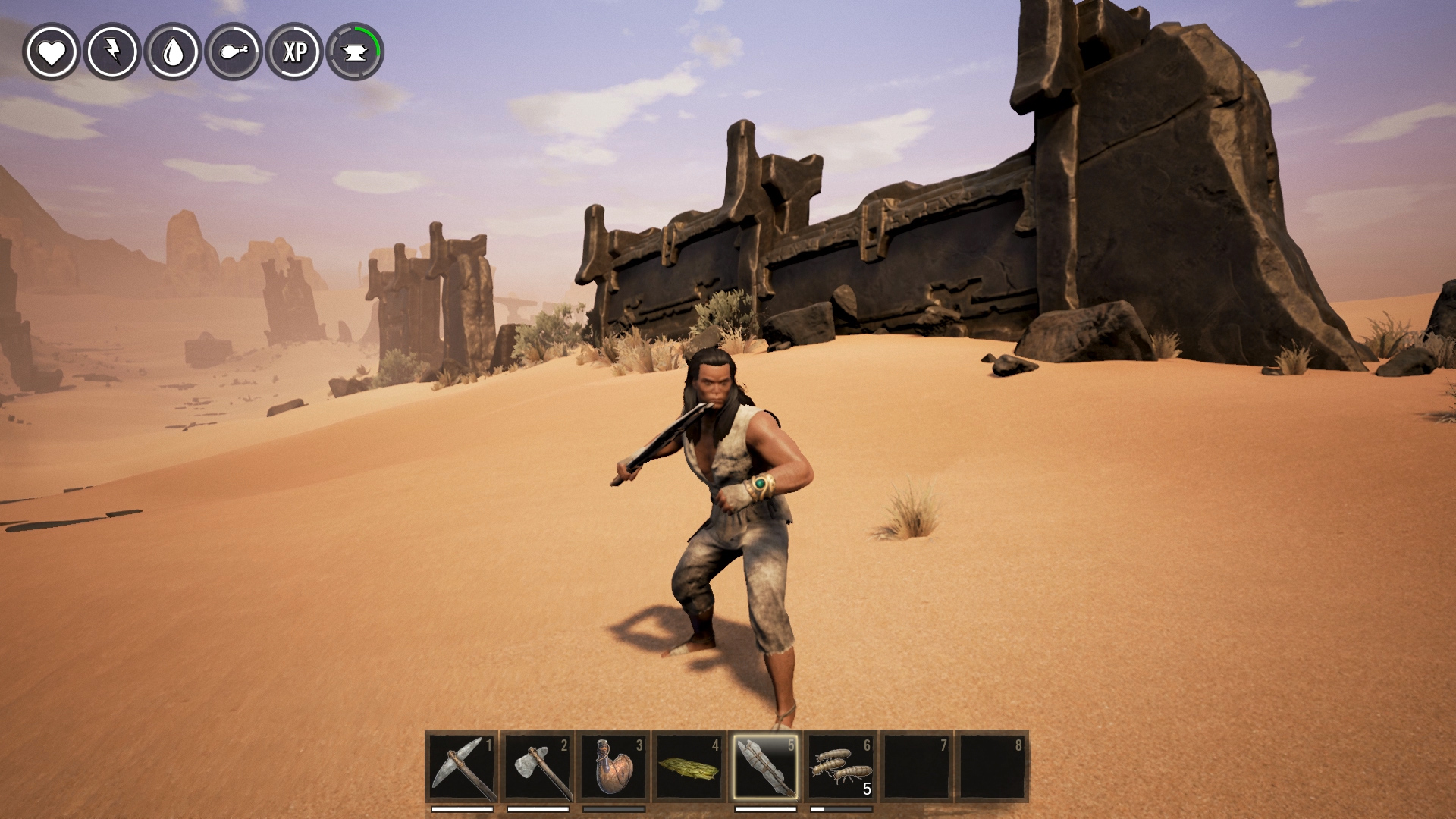 conan exiles how to make brimstone 2017