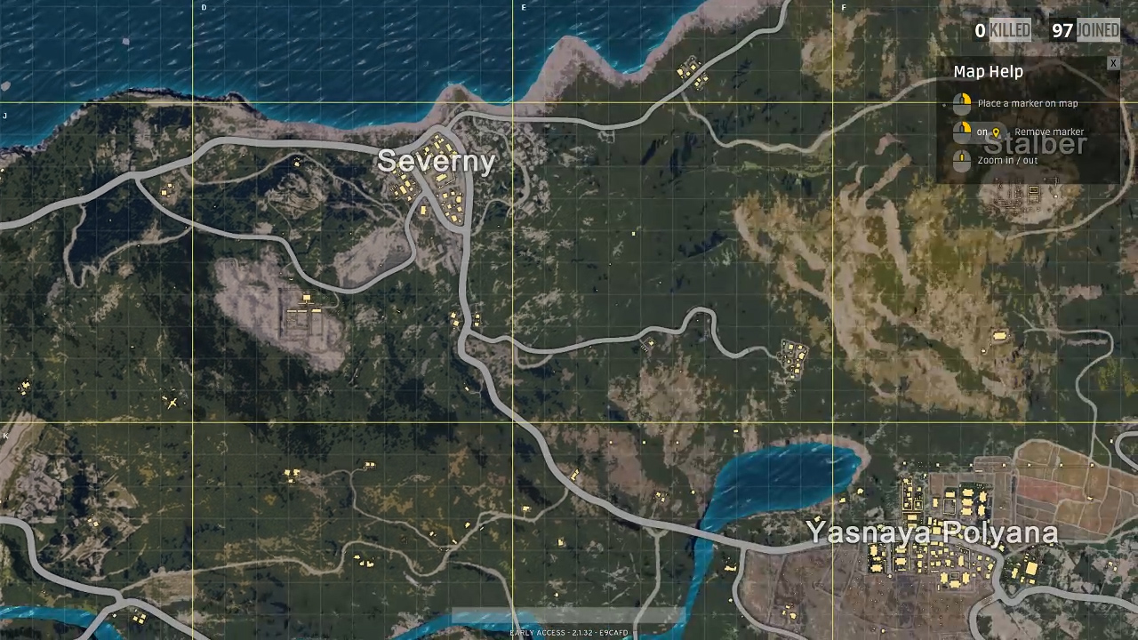 Playerunknown S Battlegrounds Maps Loot Maps Pictures: Map And All Locations In PlayerUnknown's Battlegrounds