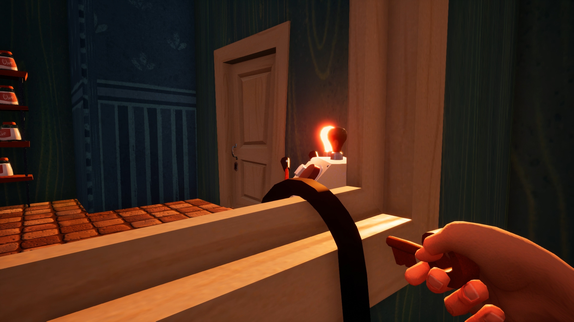 how to reach the hello neighbor alpha 4 ending indie obscura old push button fuse box old push button fuse box