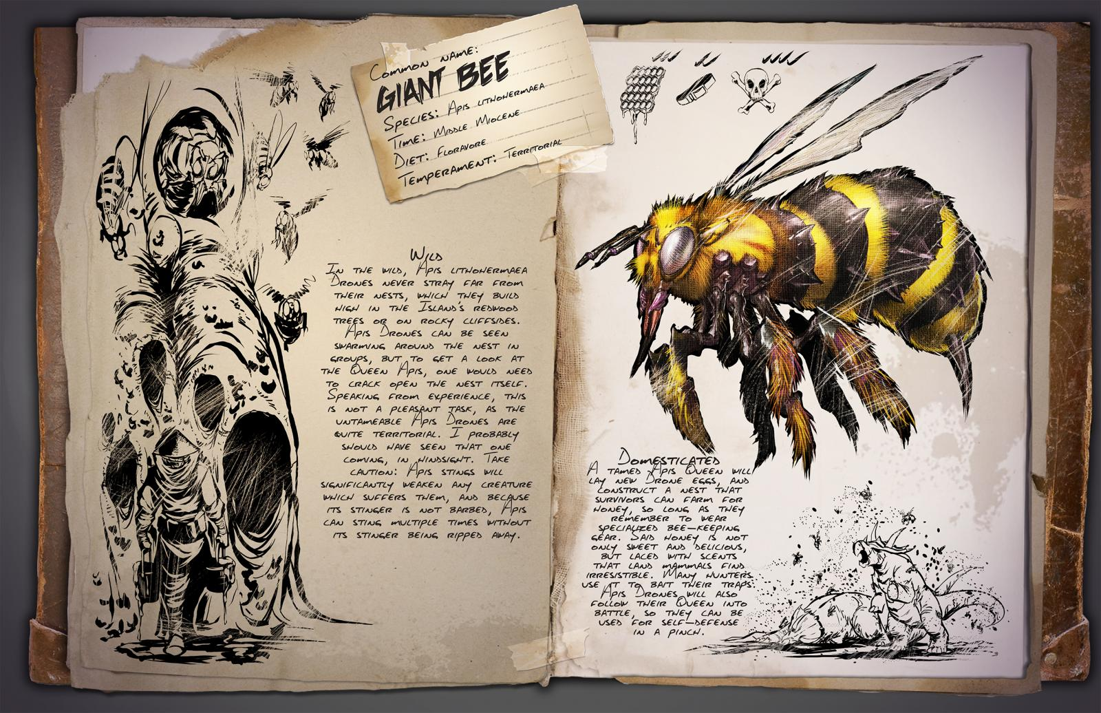 Giant Bee Honey Ark