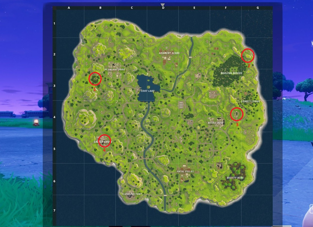 Top Places To Find The Best Loot: Fortnite Battle Royale: Best Places To Land To Find Loot