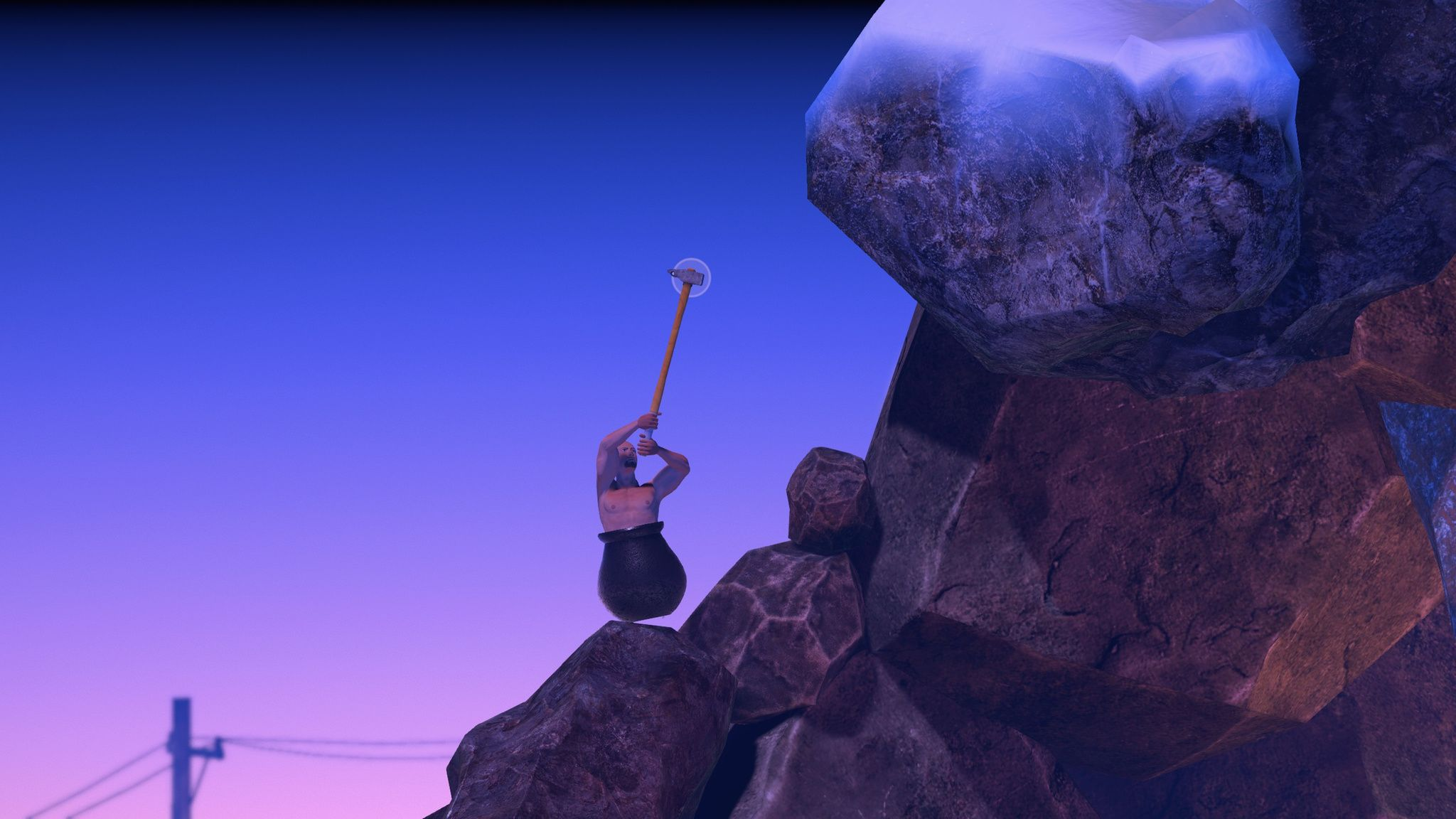 games like getting over it for pc