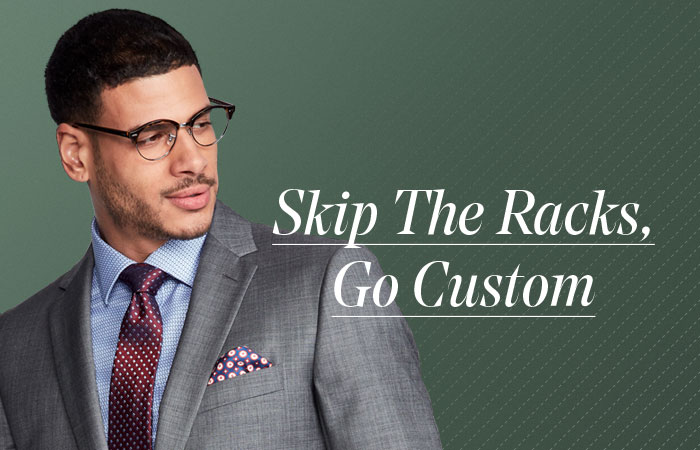 SKIP THE RACKS - GO CUSTOM