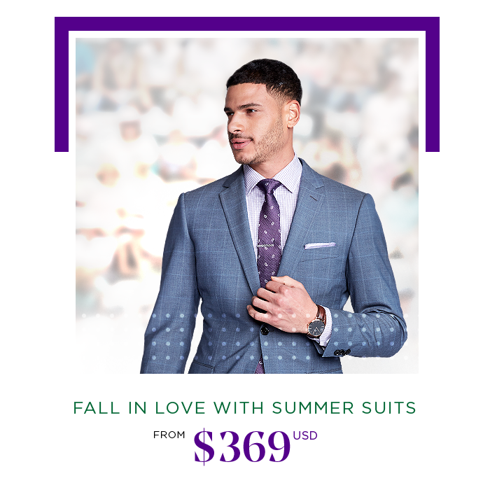FALL IN LOVE WITH SUMMER SUITS