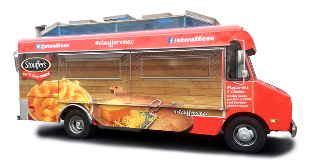 Stouffer's Truck Wrap