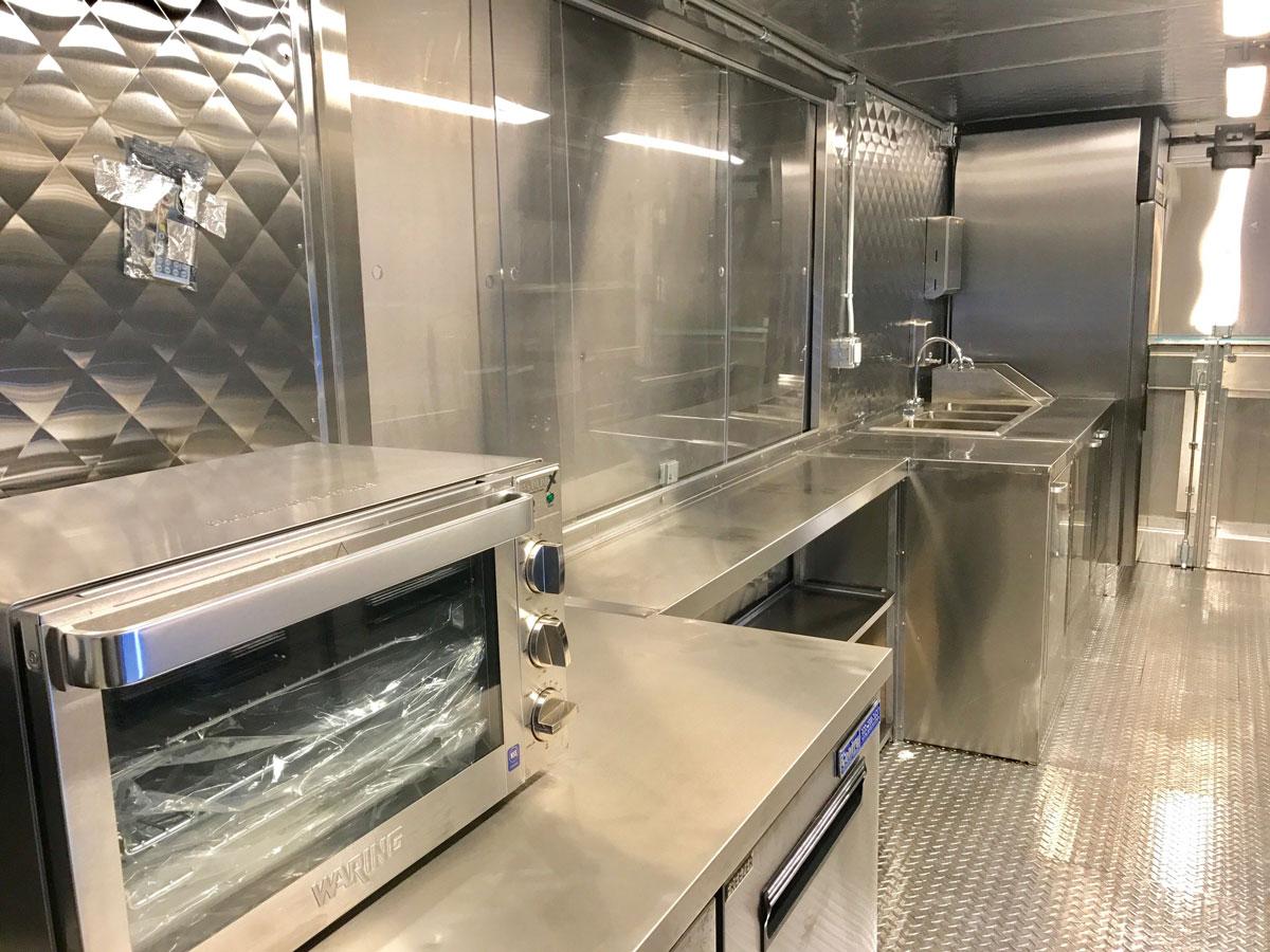 Custom Food Truck Building Fabrication Industrial Food Truck