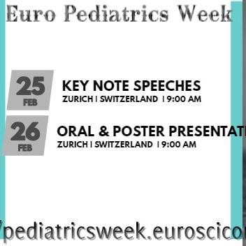 Pediatrics week 2019