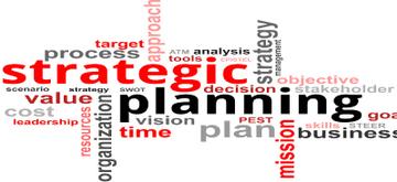 Word cloud   strategic planning