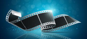 Camera film roll design vector illustration
