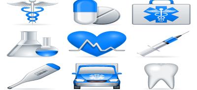 Timurock medical icons001 set2