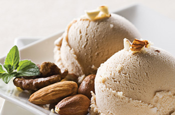 caramel praline ice cream