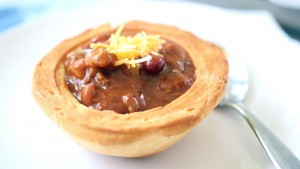 Edible soup bowls