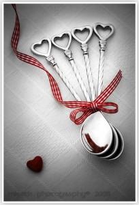 Heart spoons