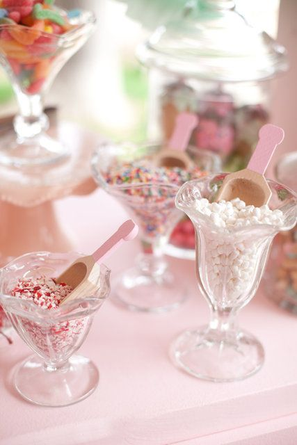Parlor ice cream bowls