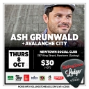 Rolling Stone Live Lodge Presents - Ash Grunwald (Album Launch) Event Thumbnail Image