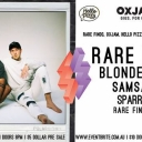 Rare Finds: OXJAM party Ft. Blondebears, Samsaruh & Sparrows Event Image