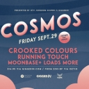 Crooked Colours, Running Touch, Moonbase + more Event Thumbnail Image