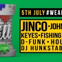 The Wall at World Bar ft Jinco, Johnny Third Event Thumbnail Image